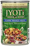Jyoti Natural Foods Classic Masala, 10-Ounce Cans (Pack of 12)