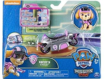 986f2fe5f8645 OTTO Set Pat Patrouille Chienne Stella avec Sac a Dos et Scooter Gris et  Rose et