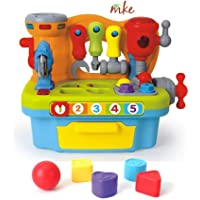 MKE Baby Toddler My Little Workshop Toys with Music and Lights, Learning and Educational Toys