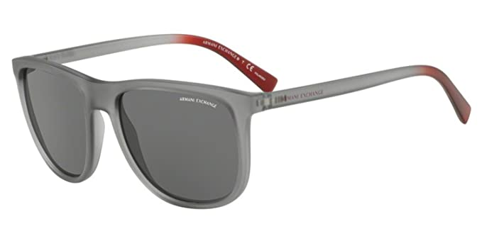 ea330b68c1b4 Image Unavailable. Image not available for. Color: Armani Exchange Men's  0ax4078sf Polarized Square Sunglasses ...