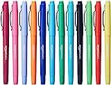 AmazonBasics Felt Tip Marker Pens - Assorted Color, 12-Pack