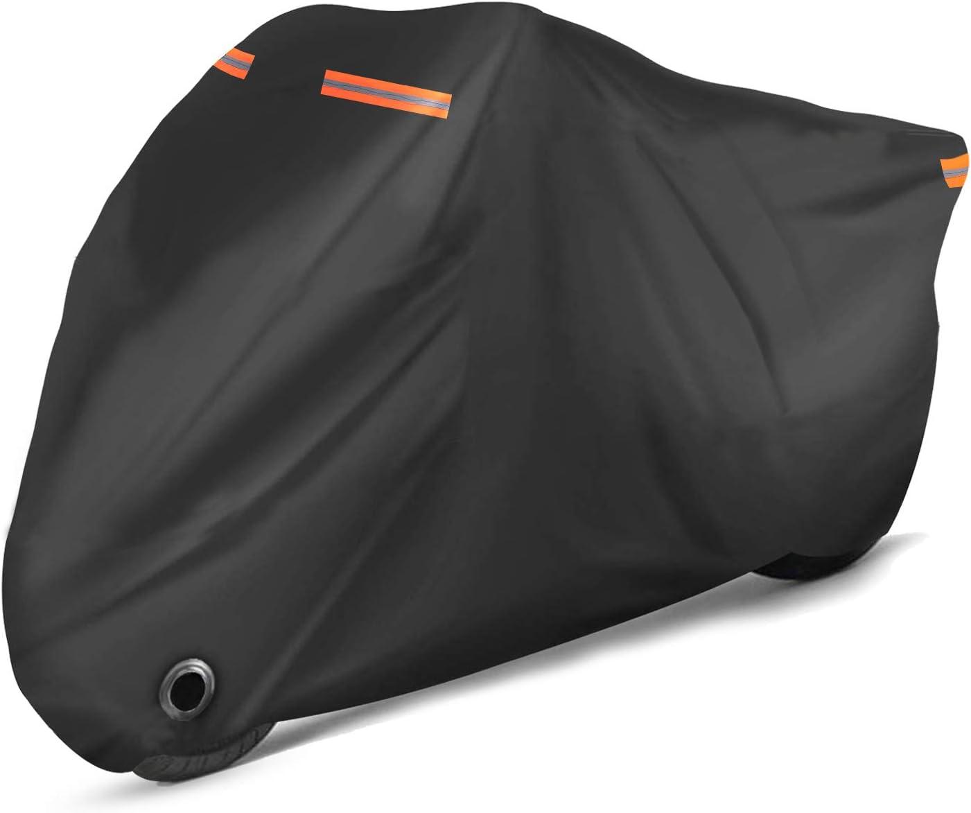 Rovtop Funda para Moto, Lona Impermeable