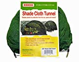 Bosmere L841 Shade Net Tunnel Plant Row Cover, 10-Feet