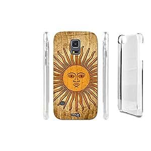 FUNDA CARCASA EFECTO MADERA SUN FACE SOLE PARA SAMSUNG GALAXY S5 MINI G870
