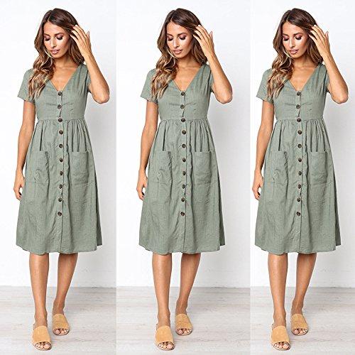 Alaix Sexy Pour Automne Extensible Soirée Chaud Manches Robe Femme Vert Moulant Longues wFrxwq4a