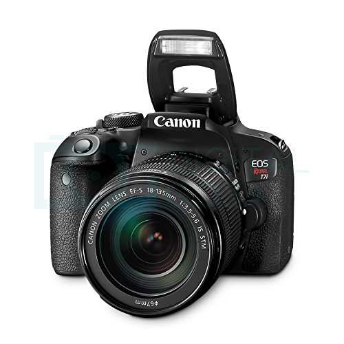 51ijSzN66FL - Canon EOS Rebel T7i DSLR Camera with 18-135mm Lens w/Advanced Photo and Travel Bundle