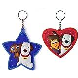 HooplaKidz Star and Heart Keychains