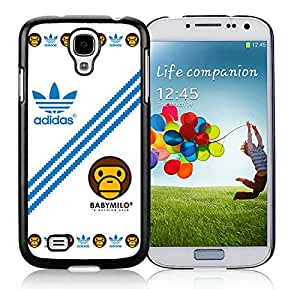 Unique And Luxurious Designed For Samsung Galaxy S4 I9500 i337 M919 i545 r970 l720 Cover Case With Adidas 26 Black Phone Case