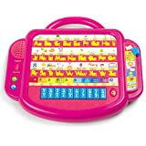 Bilingual Letters & Tunes Learning Tablet - Pink