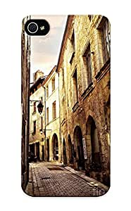 Judasslzzlc Durable Defender Case For Iphone 5/5s Tpu Cover(Medieval Street In Perigueux) Best Gift Choice