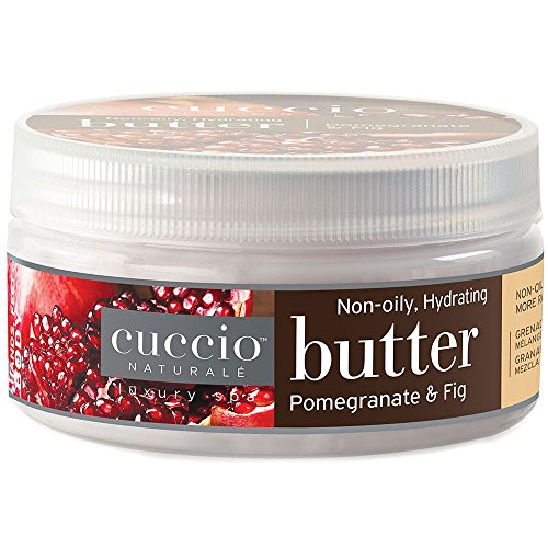 (Cuccio Naturale Butter Blend Hydrating Treatment for Hand, Feet & Body (8 oz) Pomegranate & Fig)