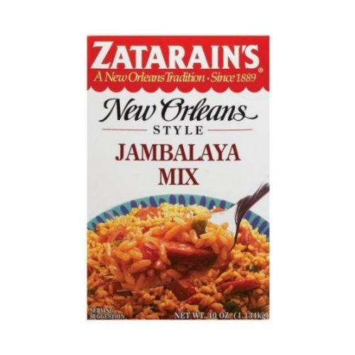 Zatarains Jambalya Rice Mix, 40 Ounce -- 8 per case. by Zatarain's