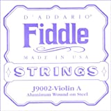D'Addario Fiddle Single A String, 4/4 Scale, Medium Tension