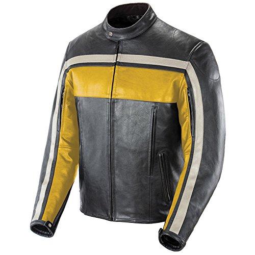 Motorcycle Jacket Yellow - 5