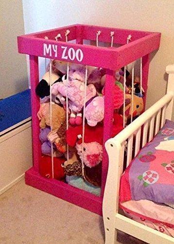 Amazon Com Free Shipping Toy Box Stuffed Animal Zoo Stuffed
