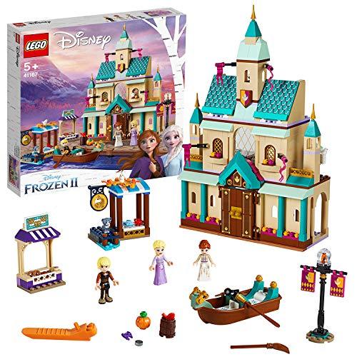 LEGO 41167 Disney Princess Frozen 2 Aldea del Castillo de Arendelle, Juguete con Mini Muñecas de Elsa, Anna y Kristoff…