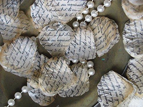 Burlap and Bling Design Studio Wedding Confetti for Table or Aisle -Book themed Wedding decor (Music Centerpiece Ideas)