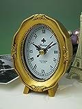 ( アンティークスタイル クロック オーバル ゴールド ) 置時計 ミニサイズ