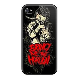 Iphone 4/4s YOM17403grtc Unique Design Nice Bmth Skin Bumper Hard Cell-phone Case -InesWeldon