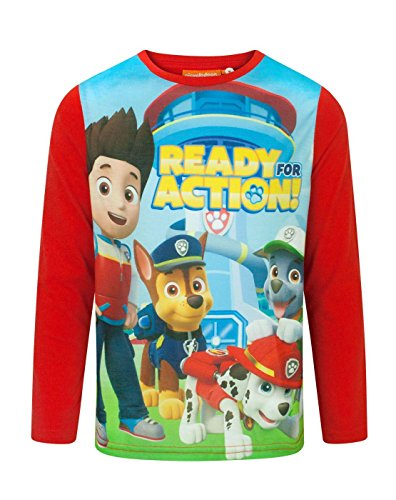 (Paw Patrol Ready For Action Boy's Longsleeved T-Shirt (4 Years))