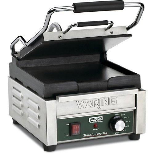 Waring Commercial WPG150 Compact Italian-Style Panini Grill, 120-volt by Waring