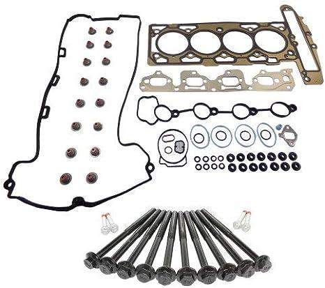 DNJ Head Gasket Set with Head Bolt Kit For 2007-2012 for Saturn Sky 2.4L 2384cc 145cid L4 DOHC