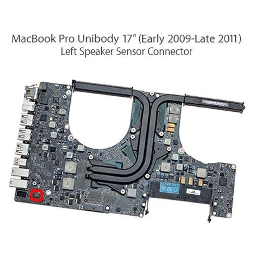 FanLeft-Speaker-WTB-Connector-4-PIN-Apple-MacBook-Pro-Unibody-17-A1297-Early-2009-Late-2011