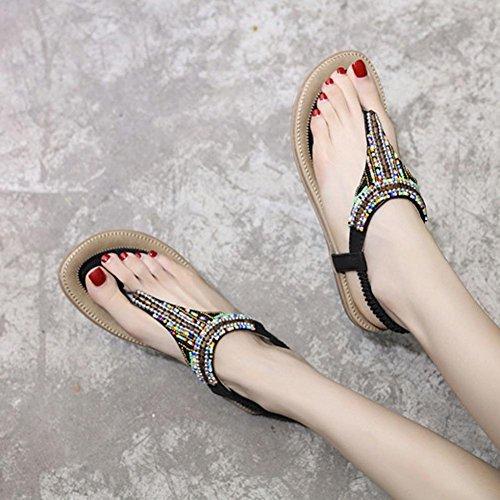 hunpta pour hunpta Noir pour Sandales Noir Sandales Femme hunpta Femme pour Sandales g76nqgr