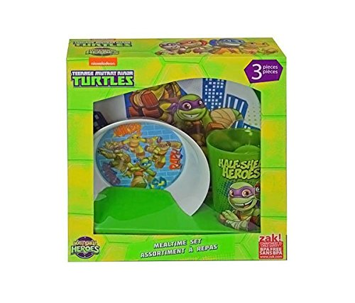 Teenage Mutant Ninja Turtles Half-Shell Heroes 3-pc Mealtime