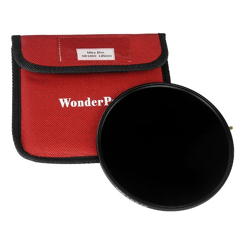 Fotodiox 145mm Ultra Slim Neutral Density 1000 10-Stop Filter for WonderPana 145 and 66 Systems by Fotodiox