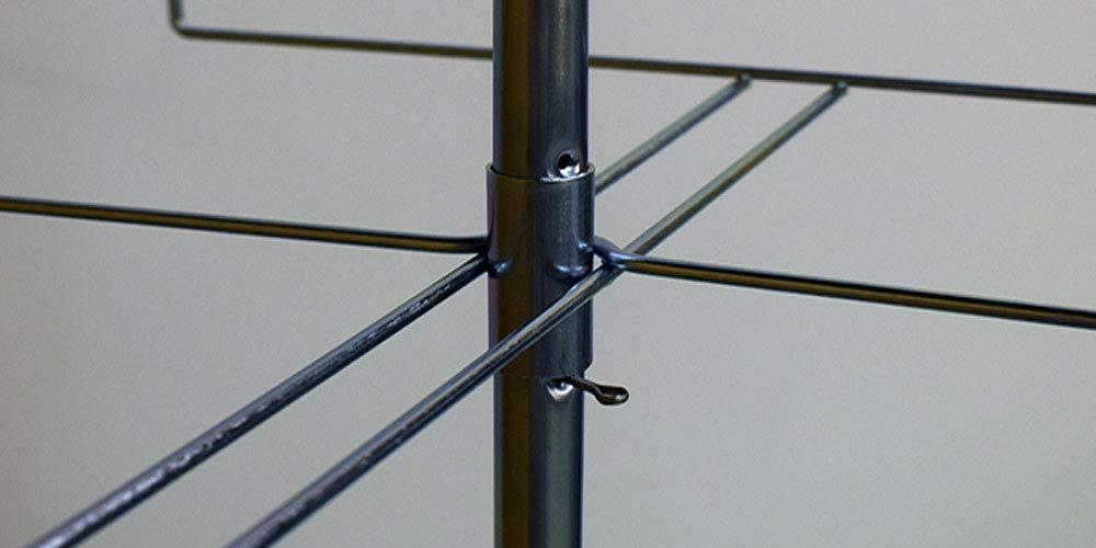 Amazon.com: SSWBasics Estante giratorio de 4 hilos cromado ...