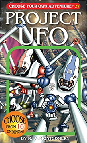Amazon Project UFO Choose Your Own Adventure 27 9781933390277 R A Montgomery Books