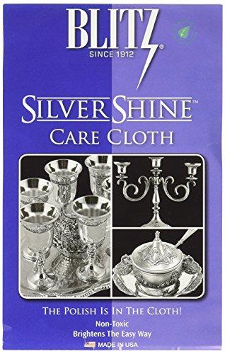 Blitz Silver Care Cloth - Blitz Silver Care Silver Polishing Cloth