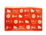 Hello Kitty Pencil Bag With Red Bow Design - Cosmetic Bag [Toy]