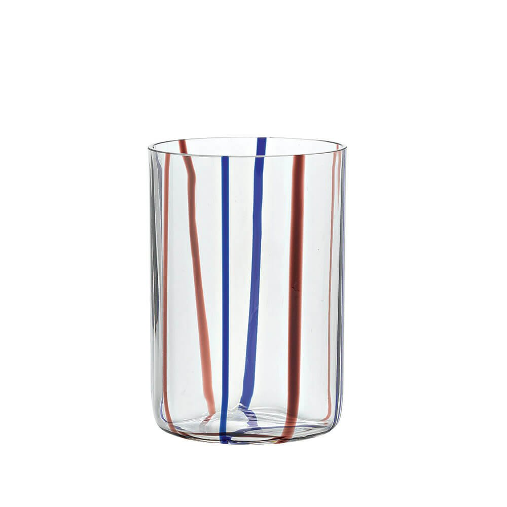 Zafferano Tirache Tumbler bicchiere acqua colore ametista-blu