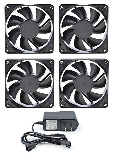 PROCOOL AV 480T Four Fan Cabinet Cooling System   Silent 20 DBA At 128 CFM
