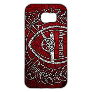 Fashion Design FC Arsenal Football Club Phone Case Cover For Samsung Galaxy S6 3D Plastic Phone Case