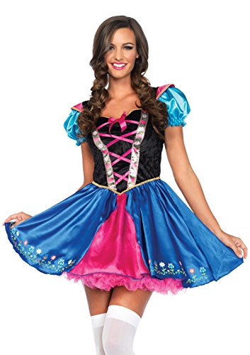 Leg Avenue Women's Alpine Princess Costume, Multi, Large (Costume Princess Womens Sexy)