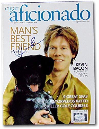 Kevin Bacon Signed Autographed Cigar Aficionado June 2000 JSA CC77024 ()