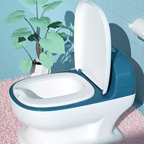 My Size Potty Train and Transition (rood/blauw) Realistisch zindelijkheidstrainingstoilet ziet eruit en voelt aan als…