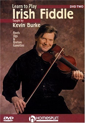 (DVD-Learn To Play Irish Fiddle #2 by Kevin Burke)