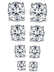 Jstyle Jewelry: Your Reliable Choice of Fashion Jewelry High average review rating of jewelry collection. All handmade jewelry, well polished and one by one quality controlled. Affordable prices and luxury appearance.Jstyle 4 Pairs Stainless...