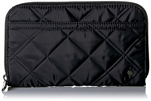 And 1 Quilted Wallet - CITY SOHO WALLET Wallet, PHANTOM BLK QUILTED, One Size