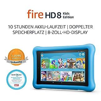 FireHD8 KidsEdition-Tablet, 8-Zoll-HD-Display, 32GB, blaue kindgerechte Hülle (vorherige Generation – 8.) 1