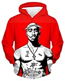 Chiclook Cool Men Women Tupac 2pac Hoodie Sweatshirt Fashion Hip Hop Streetwear Hooded Jacket