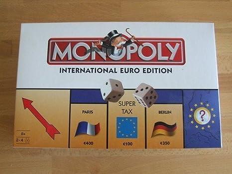 MONOPOLY EURO EDITION INTERNATIONAL by HASBRO: Amazon.es: Juguetes y juegos