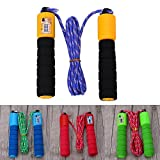 wohuu 4 Colors Strong Flexibility Adjustable Skipping Speed Rope with Sponge Handle For Students
