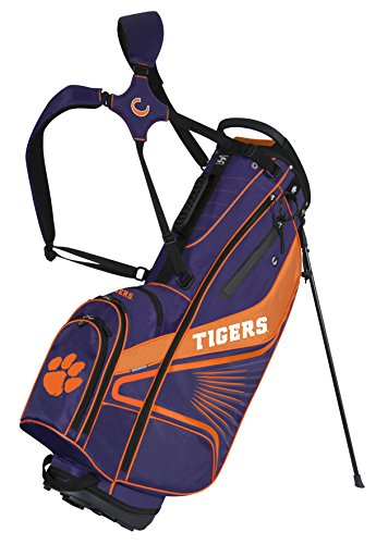 (Team Effort Clemson Tigers Gridiron III Stand Bag)