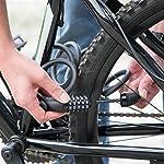 Ultrasport-Lucchetto-Codice-Numerico-a-5-cifre-e-100000-Combinazioni-Incluso-Supporto-Ottimo-Motorini-Ruote-da-Bici-e-Rimorchi-Unisex-Adulto-Nero-180-cm