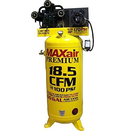 Maxair C5160V1-MAP 60-Gallon 170 PSI Max Electric Stationary Compressor